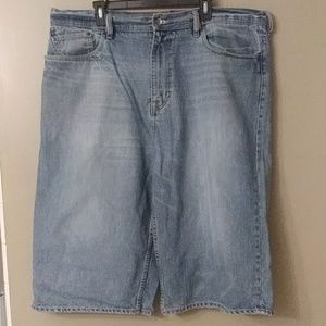 Ecko UNLTD Baggy Light Washed Denim Shorts